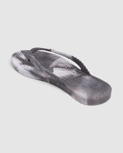 2 Summer Dazed Marble Thongs Grey 6671801 Billabong