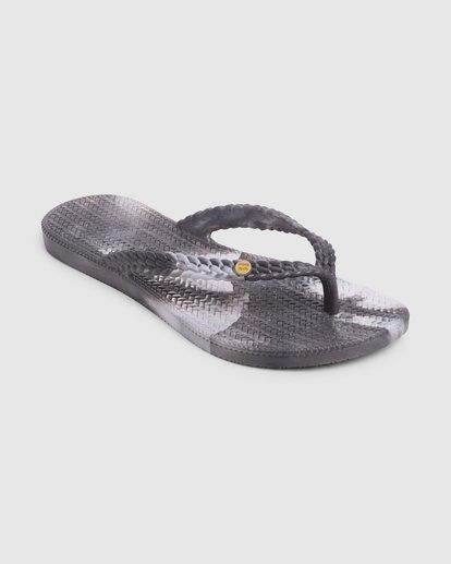 1 Summer Dazed Marble Thongs Grey 6671801 Billabong