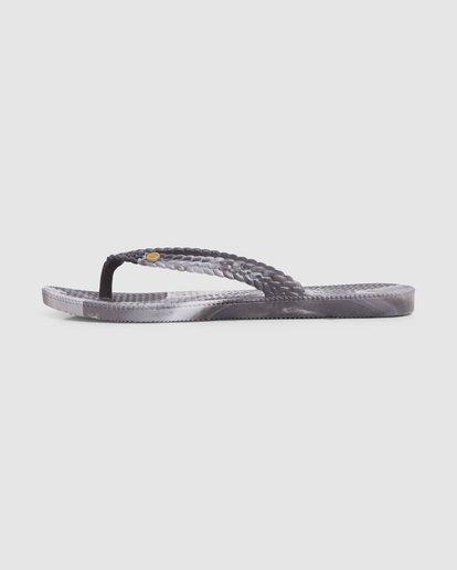 4 Summer Dazed Marble Thongs Grey 6671801 Billabong