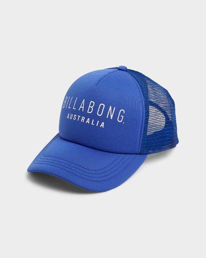 0 All Time Trucker Cap Blue 6681301 Billabong