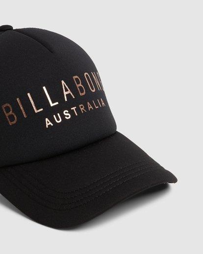 3 All Time Trucker Cap Black 6681301 Billabong
