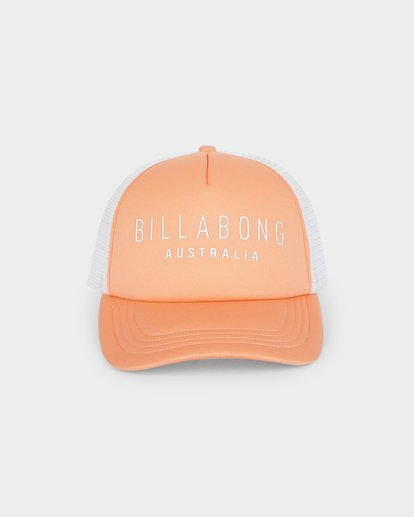 1 All Time Trucker Cap Orange 6681301 Billabong