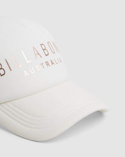3 All Time Trucker Cap White 6681301 Billabong