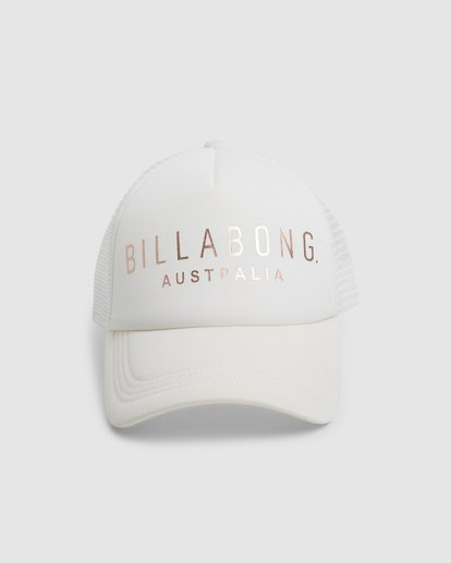 1 All Time Trucker Cap White 6681301 Billabong