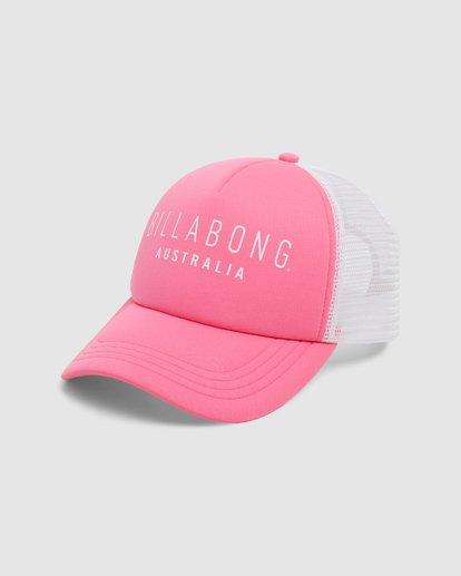 0 All Time Trucker Cap Pink 6681301 Billabong