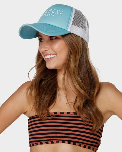 3 All Time Trucker Cap Blue 6681301 Billabong