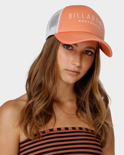 3 All Time Trucker Cap Orange 6681301 Billabong