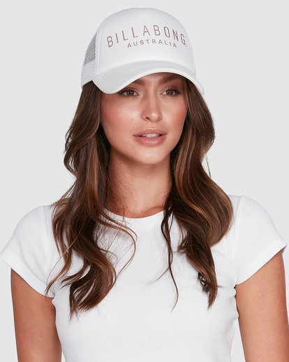 5 All Time Trucker Cap White 6681301 Billabong