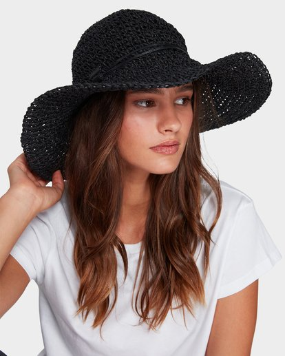 3 Brightside Hat Black 6681311 Billabong