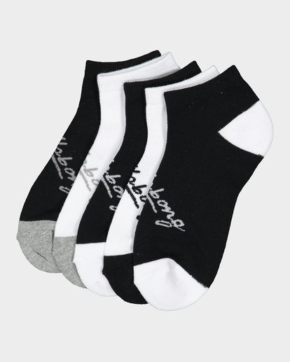 6 OCEAN 5 PACK OF SOCKS Black 6681703 Billabong