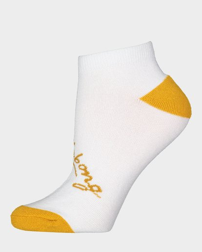 2 Ocean 5 Pack Of Socks White 6681703 Billabong