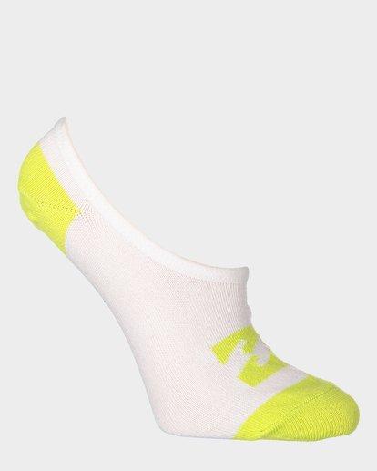 6 Invisible Sock Box Set White 6681704 Billabong