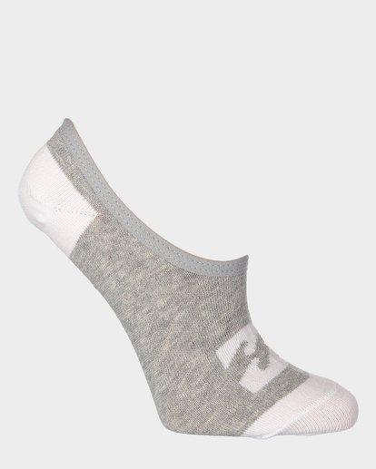 7 Invisible Sock Box Set White 6681704 Billabong