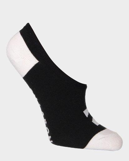 9 Invisible Sock Box Set White 6681704 Billabong
