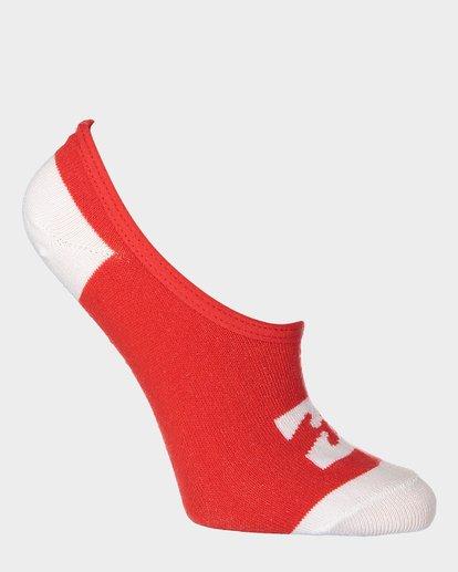 11 Invisible Sock Box Set White 6681704 Billabong