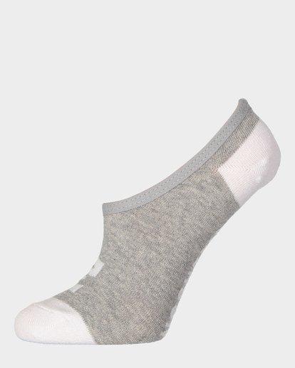 1 Invisible Sock Box Set White 6681704 Billabong