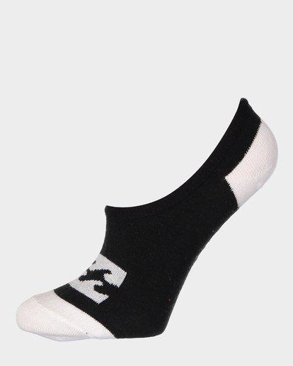 3 Invisible Sock Box Set White 6681704 Billabong