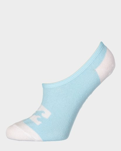 4 Invisible Sock Box Set White 6681704 Billabong