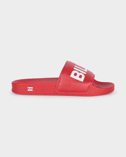 3 LEGACY SLIDE Red 6681801 Billabong