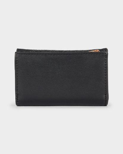 3 Flora Wallet Black 6691201 Billabong