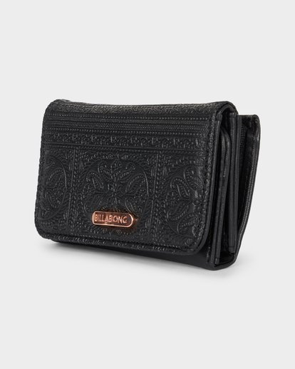 1 Flora Wallet Black 6691201 Billabong