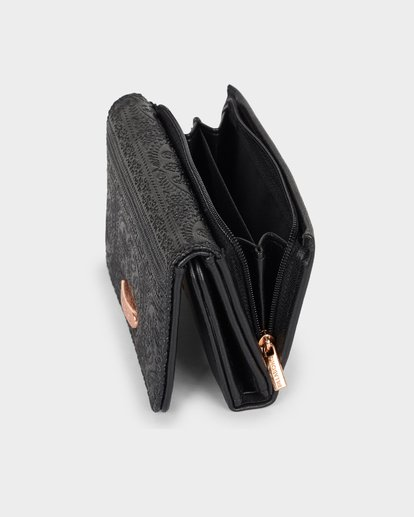 2 Flora Wallet Black 6691201 Billabong