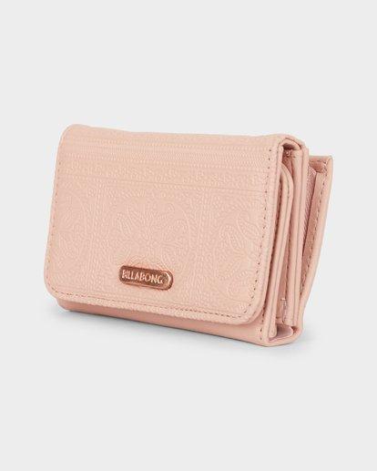 1 Flora Wallet Pink 6691201 Billabong