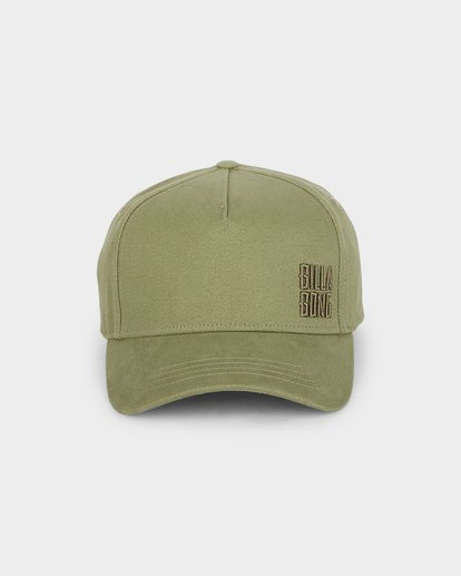 1 Side Stack Cap Green 6691302 Billabong