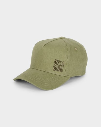 0 Side Stack Cap Green 6691302 Billabong