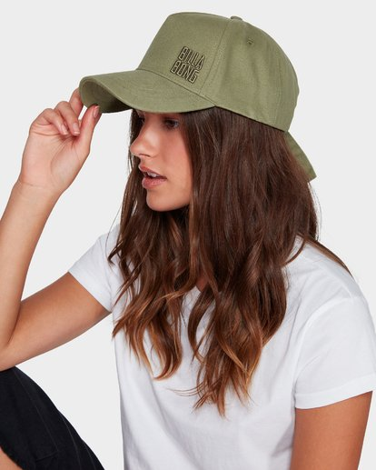 4 Side Stack Cap Green 6691302 Billabong