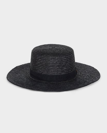 2 BOATER STRAW HAT Black 6691311 Billabong