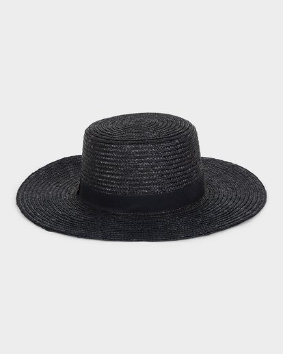 1 BOATER STRAW HAT Black 6691311 Billabong