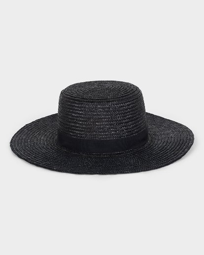 0 BOATER STRAW HAT Black 6691311 Billabong