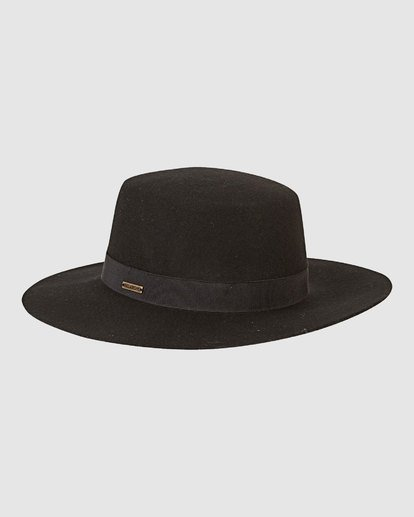 0 ABOAT TIME FELT HAT Black 6691316X Billabong