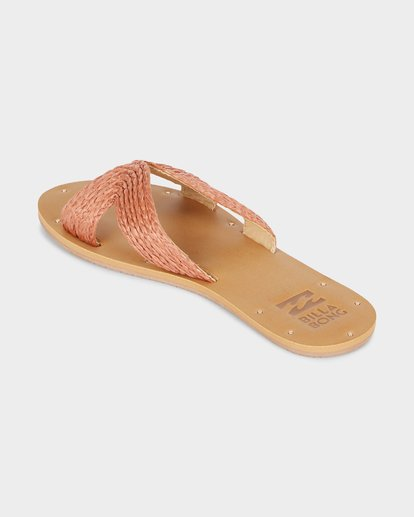 2 SUNSET POINT SLIDE Red 6691801 Billabong