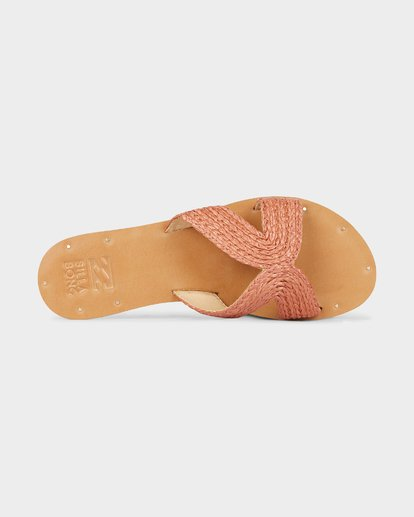 4 SUNSET POINT SLIDE Red 6691801 Billabong