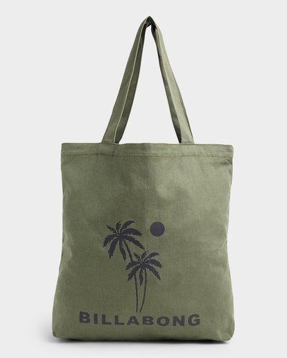 0 Palms Shopper Tote Bag Green 6692101 Billabong