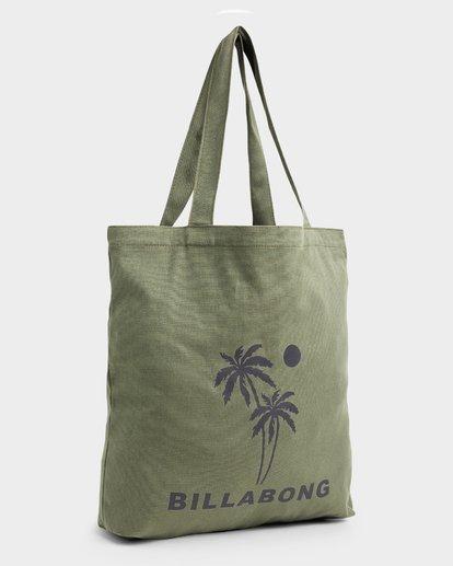 2 Palms Shopper Tote Bag Green 6692101 Billabong