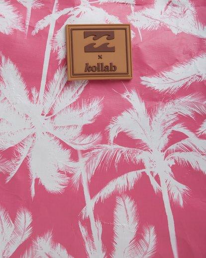5 KOLLAB PRETTY PALMS CLUTCH Pink 6692142M Billabong