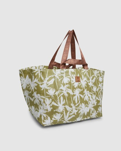 3 KOLLAB PRETTY PALMS BEACH BAG Green 6692144M Billabong