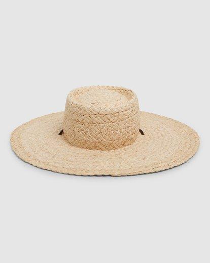 1 Paradise Straw Hat Beige 6692316M Billabong