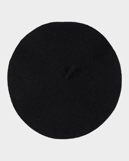 2 FLEUR BERET Black 6695310 Billabong