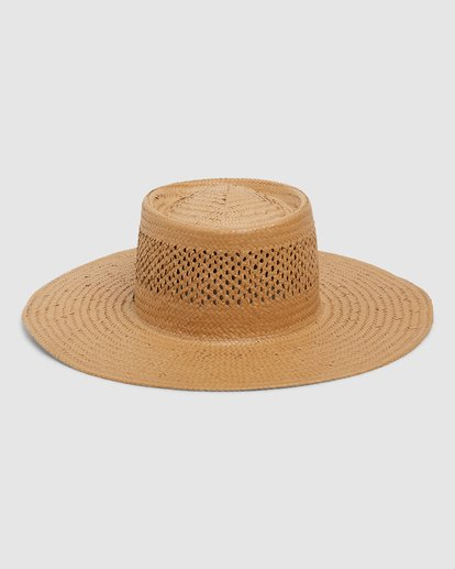 2 WANDERING DAZE STRAW HAT Yellow 6696305X Billabong