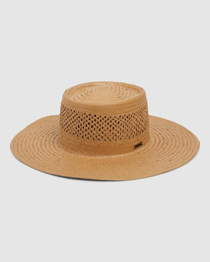 0 WANDERING DAZE STRAW HAT Yellow 6696305X Billabong
