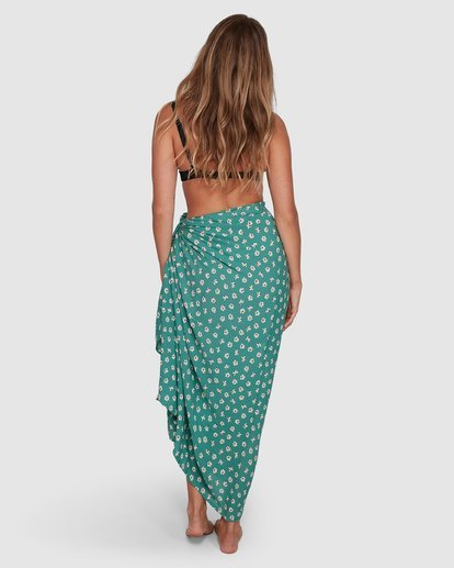 1 Positano Sarong Green 6696500P Billabong