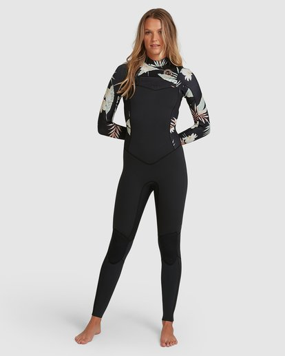 4 302 Ladies Salty Days Full Suit Black 6703830 Billabong