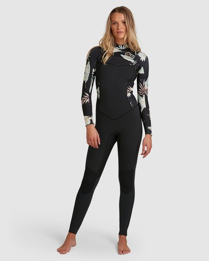 0 302 Ladies Salty Days Full Suit Black 6703830 Billabong