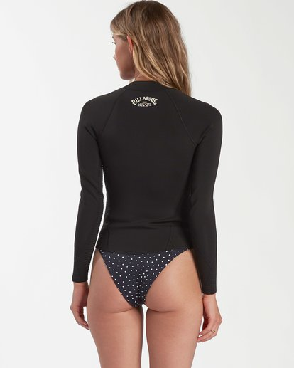 2 Peeky Wetsuit Jacket Black 6704101 Billabong