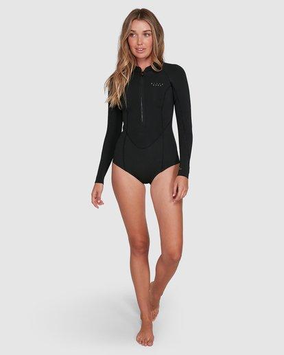 2 Salty Dayz Springsuit Wetsuit Black 6704502 Billabong