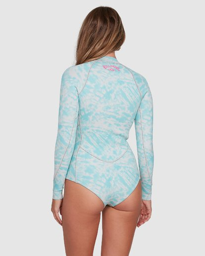 2 Salty Dayz Long Sleeve Springsuit Blue 6704502 Billabong